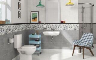 Рисунок 1: Стильная ретро-ванная комната