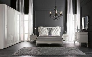 Классическая спальня и высокий глянец