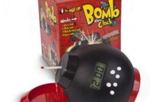 Бомба с будильником и копилка в одном