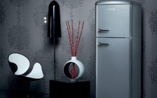 Холодильник в стиле ретро от Gorenje