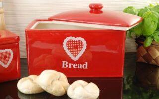 Как хранить хлеб? См. Декоративные блузки (ФОТО)