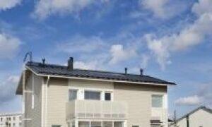 Солнечные коллекторы, встроенные в крышу